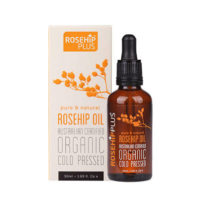 Rosehip Plus Rosehip Oil 50mL Australian Certified Organic