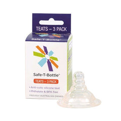 Safe-T-Bottle Baby Bottle Teats 3 Pack