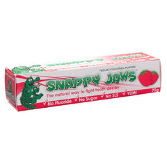 Snappy Jaws Toothpaste 75g Super Strawberry