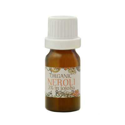 Sundala Health Organic Neroli Essential Oil  3% in Jojoba Oil 10ml
