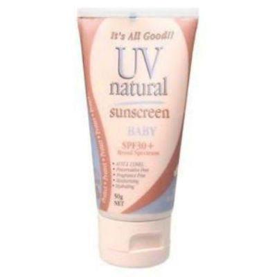 UV Natural Baby Sunscreen 50g SPF30+ Broad Spectrum