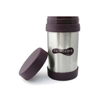 U Konserve Stainless Steel Insulated Food Jar Eggplant