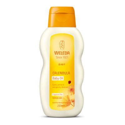 Weleda Calendula Baby Oil 200mL