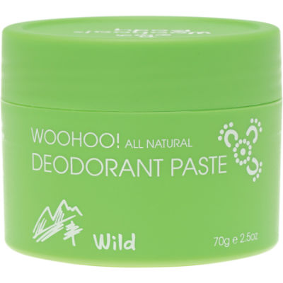 Woohoo Body Deodorant Paste Wild-Extra Strength 70g