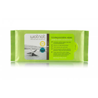 Wotnot Biodegradable Wipes Refill 20 Pack