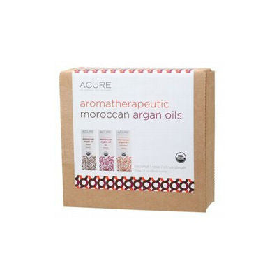 Acure Aromatherapeutic Argan Oil Gift Pack