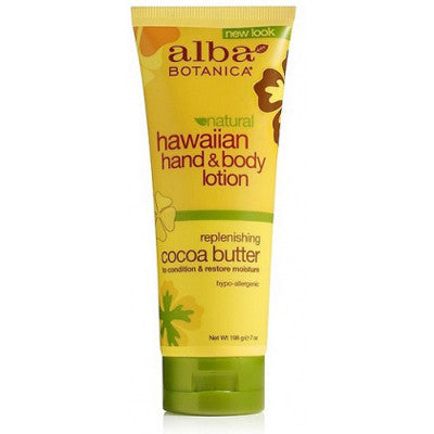 Alba Hawaiian Cocoa Butter Hand & Body Lotion 200mL