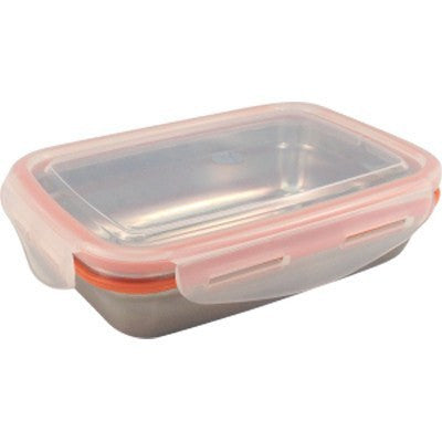 Green Essentials Snaps Lunch 560mL Stainless Steel Leak Proof Container