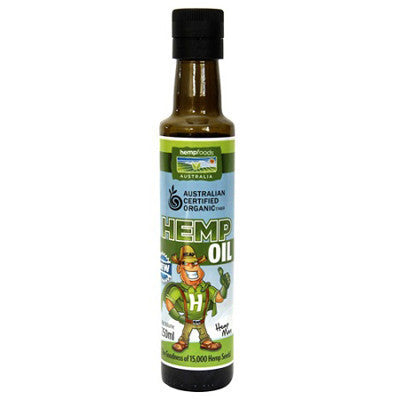 Hemp Foods Australia Certified Organic Hemp Oil