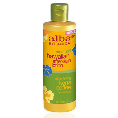 Alba Hawaiian Kona Coffee After-Sun Lotion 250mL