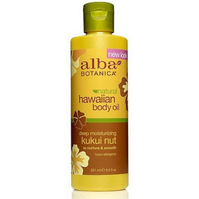 Alba Hawaiian Kukui Nut Body Oil 250mL