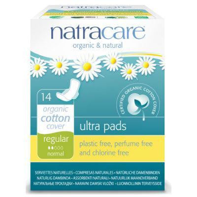 Natracare Natural Ultra Pads with Wings Regular 14 Pack
