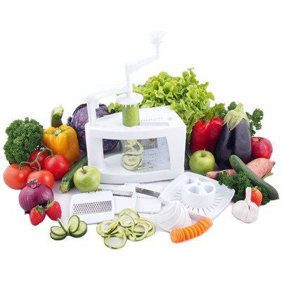 Raw Blend 8 in 1 Raw Slicer (Spiraliser) Raw Food Spiralizer