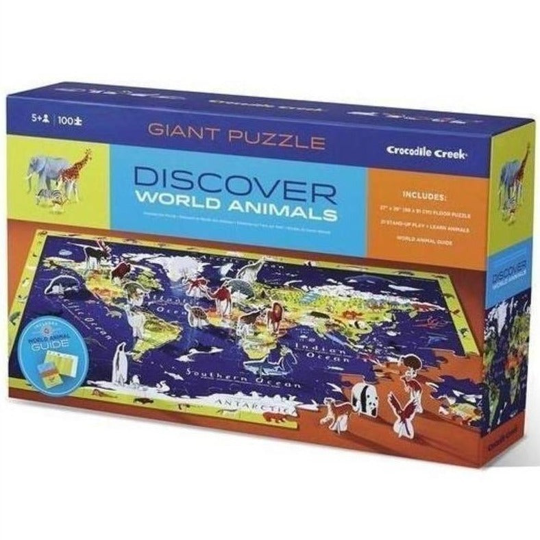 Discover World Animals Puzzle