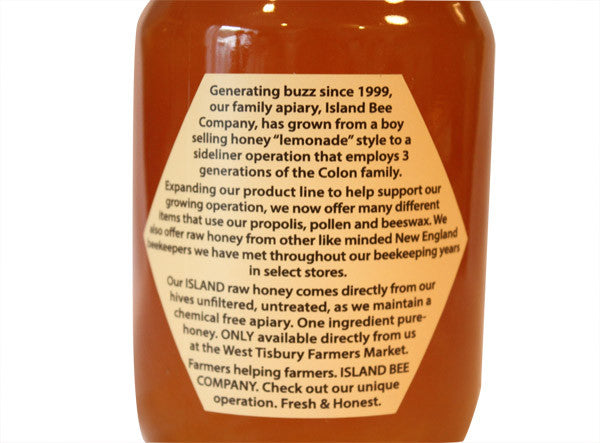 Raw Island Honey