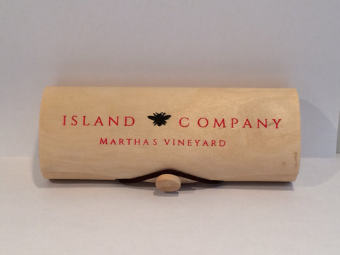 Island Bee Company Pine Cone Candles