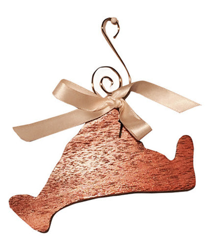 Island Outline Wood Ornament by MacLeod Woodworking