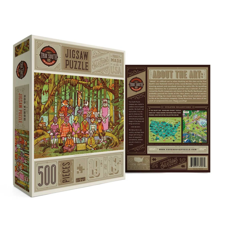 Woodland Animals Puzzle