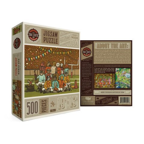 Football Dogs Puzzle
