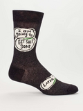 Men's Crew Socks: Get Shit Done Later