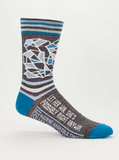 Men's Crew Socks: Let Her Win