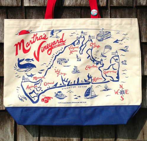 Martha's Vineyard Large Beach Tote