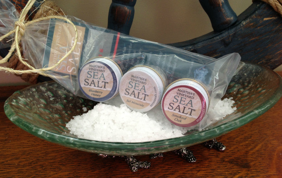 Martha's Vineyard Sea Salt Traveler 3-Pack