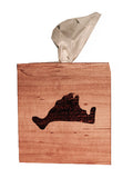 Martha's Vineyard Wooden Tissue Box