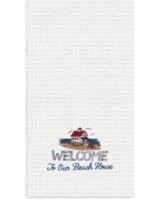 Welcome To Our Beach House Kitchen Towel