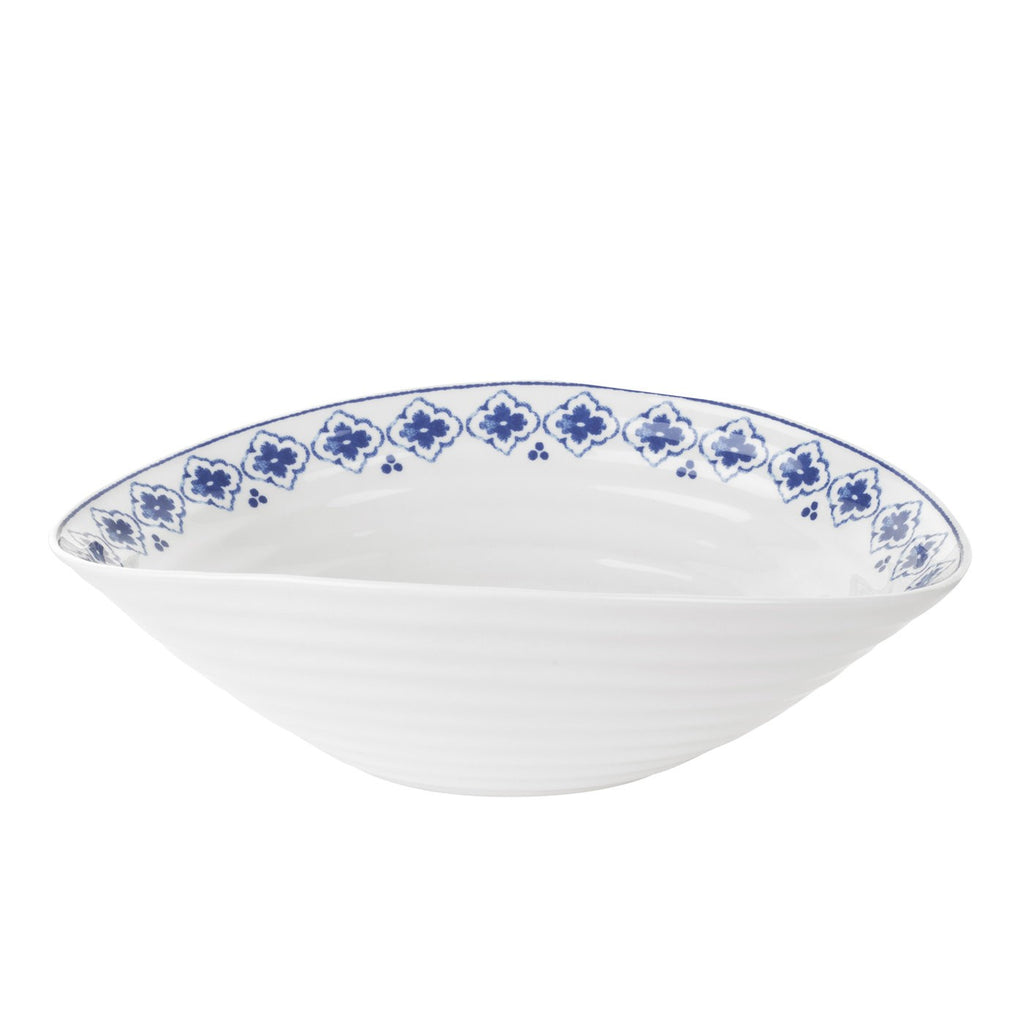Blue Medium Salad Bowl