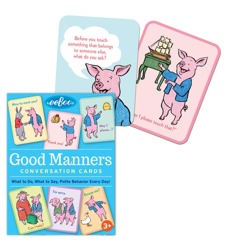 Conversation Cards: Good Manners