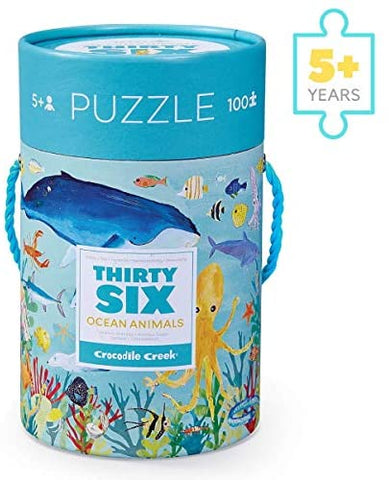 Thirty-Six Ocean Animals Puzzle