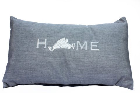 "Martha's Vineyard ""Home"" Pillow"