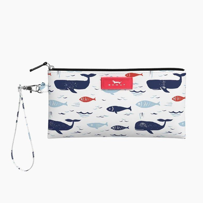 Scout Kate Wristlet: All is Whale