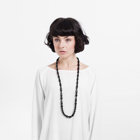Seed Necklace - Black