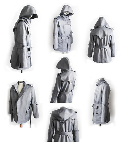 Stormbringer Armored Knight Trench Coat(100% Handmade) Made To Order