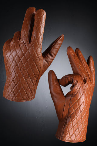 Quilted Touchscreen Gloves / smartphone touching / Accessories / unique / Stylish / warm and durable