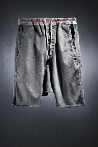 Hard Washing Custom Denim Fabric Made Baggy Fit Shorts