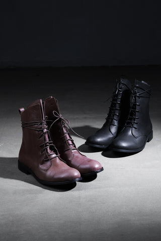 Baisc leather Derby  Boots