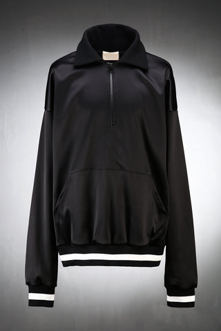 Logo Patch Satin Anorak