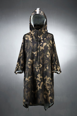 Reflective Line Poncho Raincoat