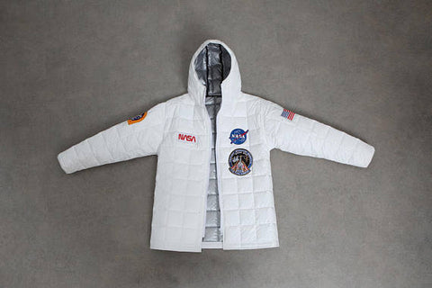 Fly to the moon now ! - Space Jacket - Astronaut Jacket - star jacket - jacket patch - winter jacket - boho jacket - embroidered jacket -