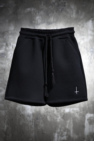 Cross neoprene shorts / shorts for man / mens trunk / short pants / burning man men