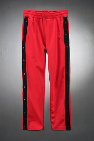 Side Snap Button Training Pants / unique clothing / casual wear / hiphop / winter pants / Sports pants