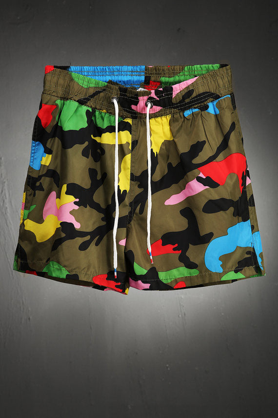mens clothing/shorts/mens short/mens shorts/festival clothing//harem pants /festival clothing/Men's camo swimming shorts