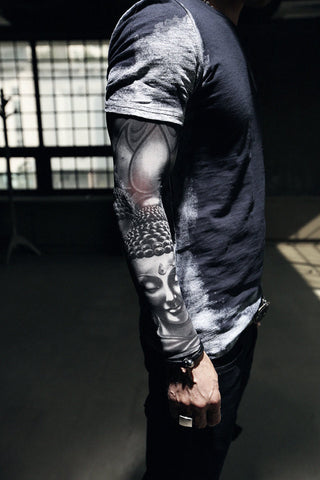 Colorful Printed Tattoo Old School Style Arm Warmers /wrist tattoo/best item/arm tattoo/men tattoo