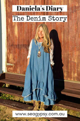 Daniela's Dairy: The Denim Story. Prairie Gypsy Denim range