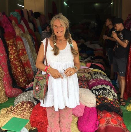 Daniela's Dairy: How To Travel Sea Gypsy Style - My Top Travel Tips. Searching for fabrics