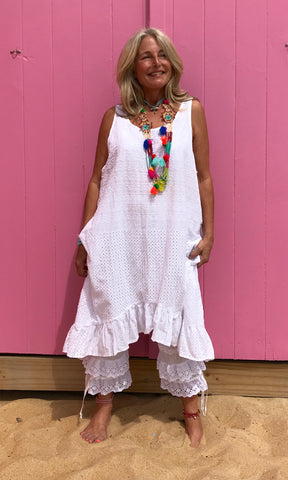 Summer Gypsy Farm Girl Dress