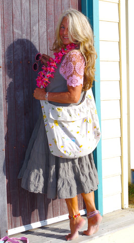 Prairie Gypsy Hemp Boho Bag